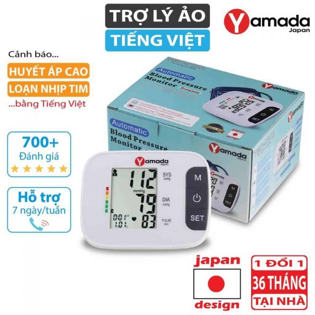 Mua máy đo huyết áp yamada nhật bản uy tín