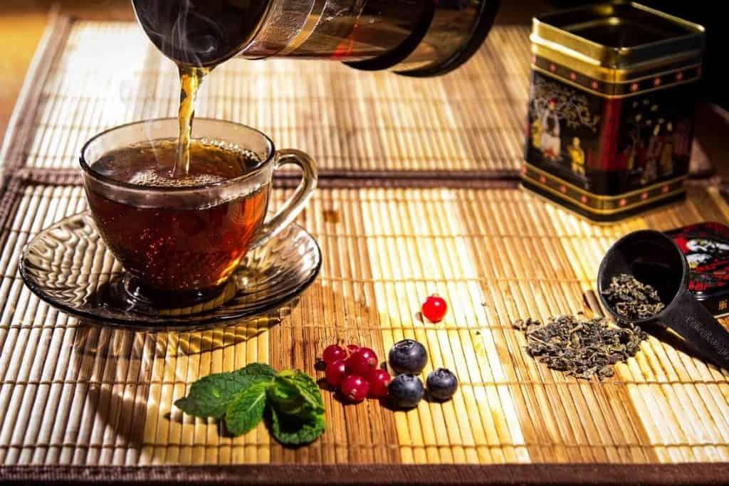 Các loại trà nâng cao rung động cơ thể