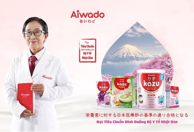 Review Sữa Aiwado sữa Kazu mua ở đâu giá bao nhiêu chính hãng