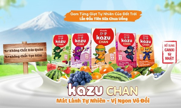 Review Sữa Kazu Chan sữa chua uống có tốt không