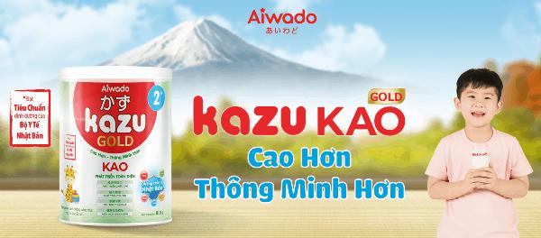 Review Sữa Kazu Gold Kao có tốt không mua ở đâu