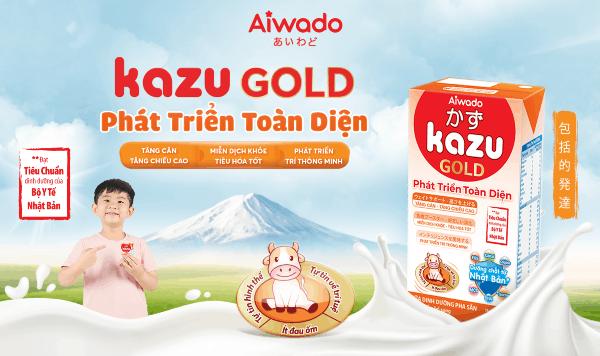 Review Sữa Kazu Gold phát triển toàn diện có tốt không