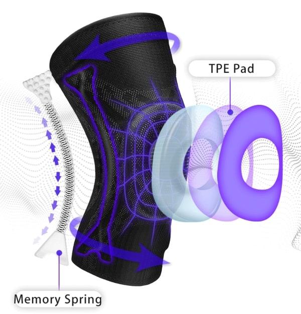 Miếng bảo vệ đầu gối Veidoorn Knee Support